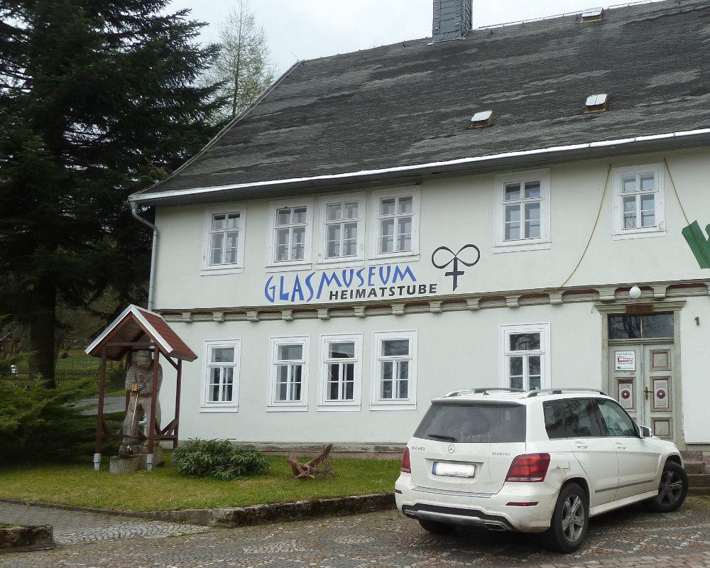 Glasmuseum Eingang