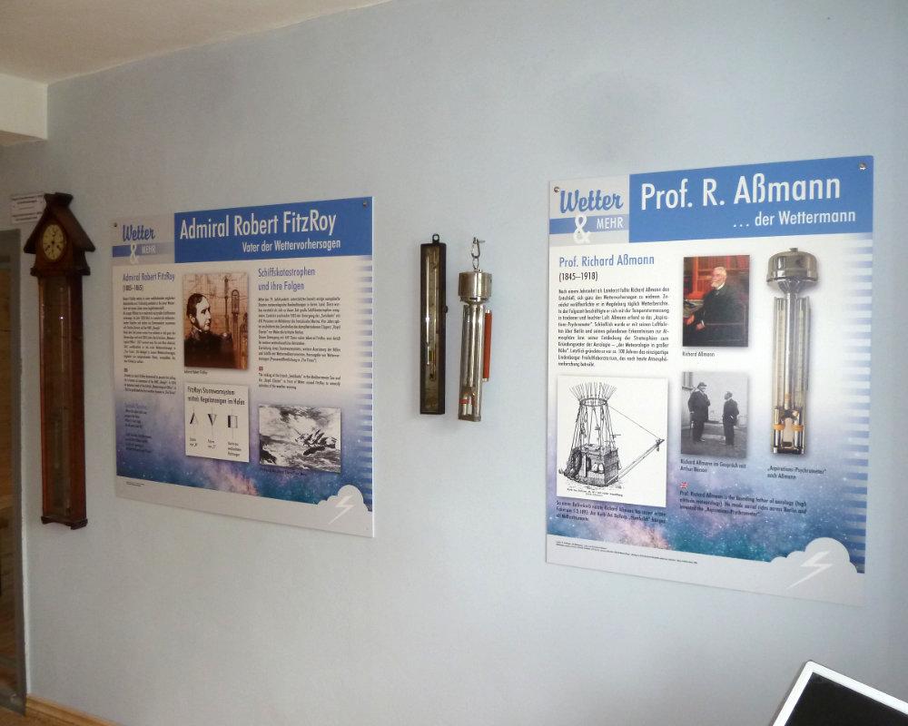 Wettermuseum Tafeln