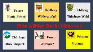 Auswahl-Icons für Videos